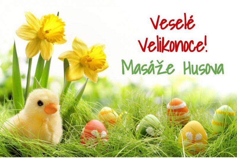 Masáže Husova - Velikonoce 2018