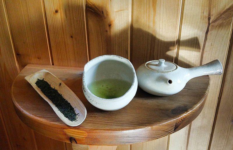 Zelený čaj - čajovna Skleněná Louka