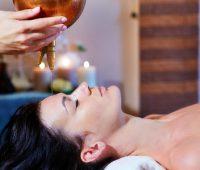 Ájurvédská masáž pro unavené oči